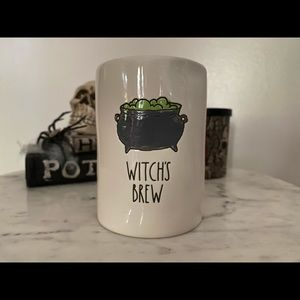 NWT RAE DUNN HALLOWEEN WITCH'S BREW CANDLE